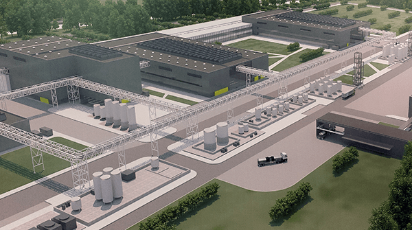 Novo Nordisk rendering of $2B expansion currently underway