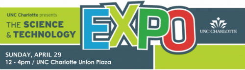 UNC Charlotte Science and Technology Expo logo