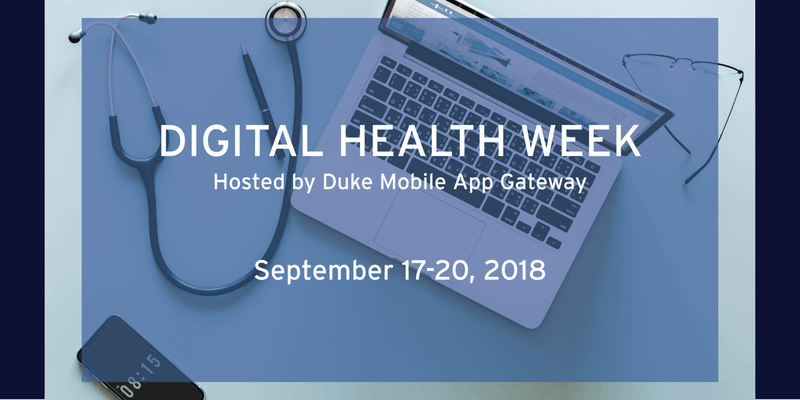 Duke Digital Health Week