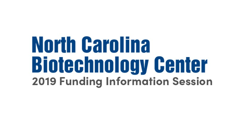 NCBiotech 2019 Funding Information Session