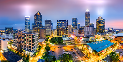 Charlotte skyline. -- Shutterstock photo