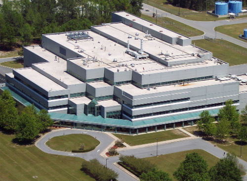 Thermo Fisher biomanufacturing site in Greenville