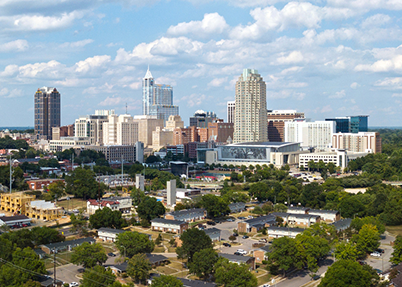 Raleigh skyline by iStock