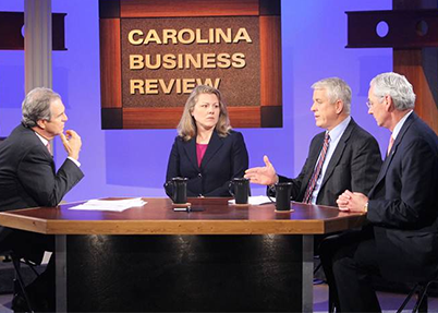 Corie Curtis speaks on Carolina Business Review