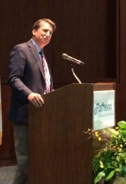 Gov. McCrory announces 488 jobs at Patheon