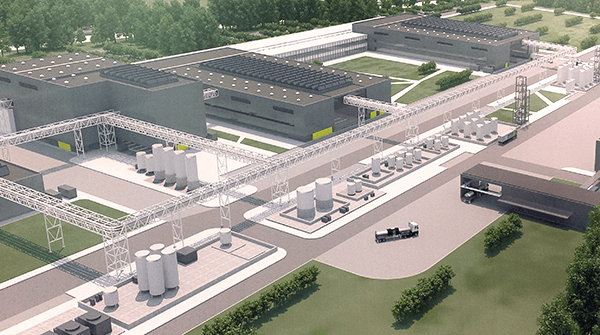 Novo Nordisk rendering of the $1.85 billion expansion currently underway.