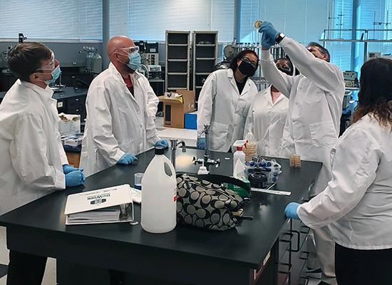 JCC BioWorks lab session
