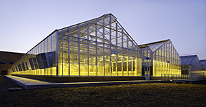 A BASF greenhouse in RTP
