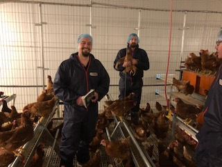 Preparing for field trials in France for poultry red mite