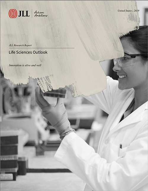 JLL 2019 life science report cover