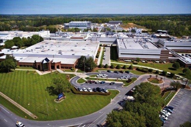 Grifols is adding manufacturing capacity to its 233-acre Clayton campus.