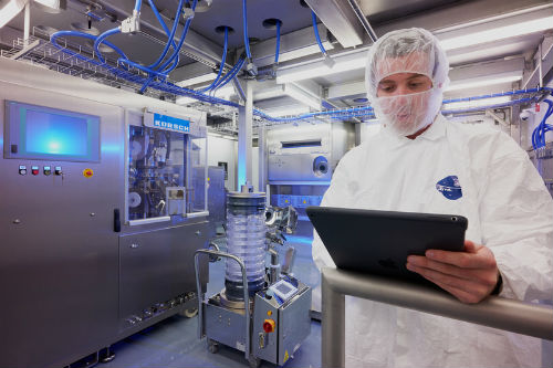 Continuous manufacturing suite at Patheon Greenville plant
