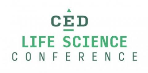 CED Life Science Conference logo