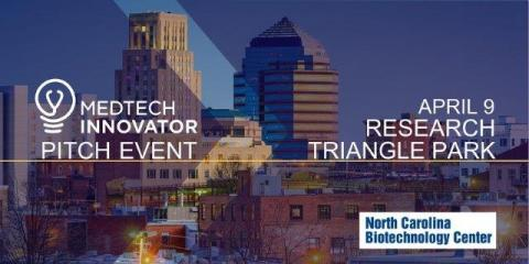 MedTech Innovator Pitch Event image